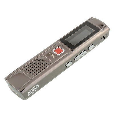 """809 4GB 1.1"""" LCD Digital Rechargeable stereo Voice Recorder Dictaphone WMA MP3"""