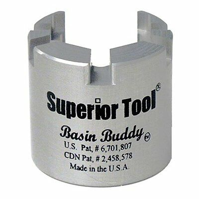 Superior Tool 03825 Basin Buddy Faucet Nut Wrench-Wrench to grab metal, pvc