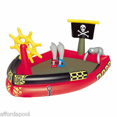 Bestway Pirate Play Pool & Ball Pit - It's time to set sail me hearties