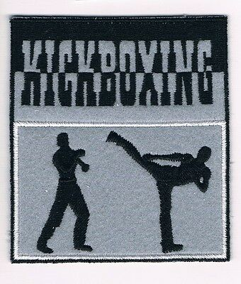 TRADITIONAL KICKBOXING Patch Uniform Fight Style MMA Van Damme Karate Martial
