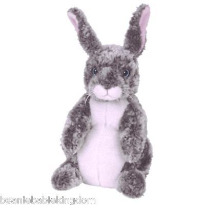 Ty Buddy Buddie * HOPPER *  The Grey and White Bunny Rabbit 09438 13""