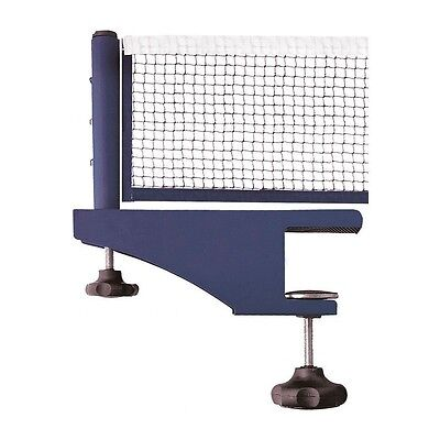 Post Clamp Stand Set with Table Tennis Net Standard Ping Pong Replacement Mesh