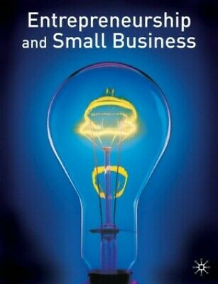 Entrepreneurship and Small Business by Burns, Paul Paperback Book The Cheap Fast