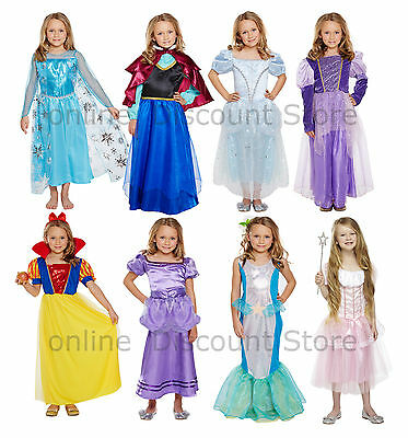 Kids Girls Princess Fancy Dress Cute Dress up Costume Party Child Cosplay Fairy