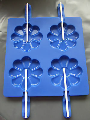 Silicone Mould-Flower/ Daisy Lollipop Ice Cream/ Chocolate/ Ice Lolly/Cake Pop