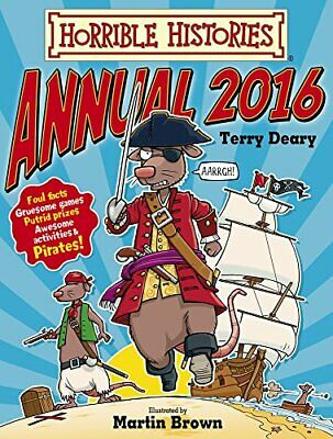 Horrible Histories Annual 2016 by Terry Deary Book The Cheap Fast Free Post