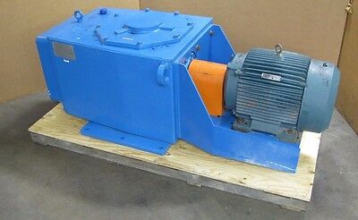 Mixing Equipment Co. Lar-120 30.6:1 56 Rpm Output Mixer 40 Hp 460V Motor Rebuilt