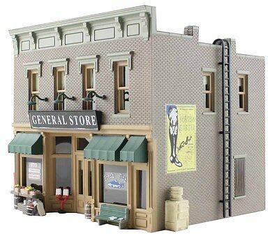 Woodland Scenics BR5841 O Lubener's Gen Store Structure Built-&-Ready