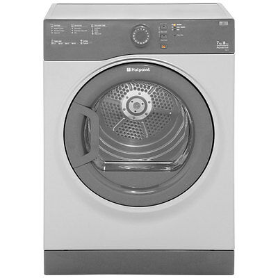 Hotpoint TVFS73BGG Aquarius 7Kg Vented Tumble Dryer Graphite New from AO