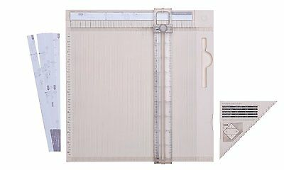 Martha Stewart Crafts Deluxe Scoring Board with Paper Trimmer (42-05021) NEW
