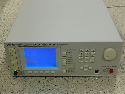 Newport ESP7000 Universal Motion Controller with Driver Modules