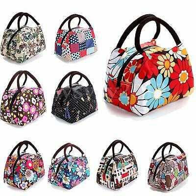 Thermal Portable Waterproof Picnic Carry Pouch Storage Case Box Tote Lunch Bag