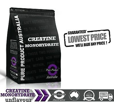 1Kg Pure Creatine Monohydrate Hplc Tested *workout Enhancer