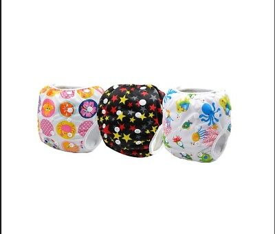 Reusable Swim Nappies One Size - Newborn to Toddler