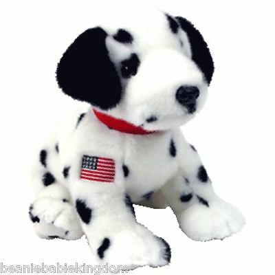 Ty Buddy Buddie * RESCUE * The FDNY Dalmation Dog - Very Rare Ty Store 09502 11""