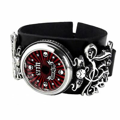 Official Alchemy Gothic Life Time Wristwatch - Gift Boxed