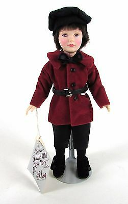 "Vintage 1986 Effanbee "" HERALD SQUARE # 1205 "" Little Old New York 11"" Doll"