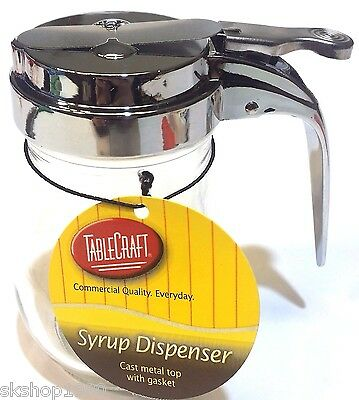 Tablecraft Products Honey / Syrup Dispenser 6 Oz 177 ml NEW With Tags