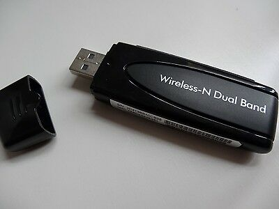 NETGEAR WNDA3100V2 N600 Dual Band Wi-Fi Wireless USB Adapter Panasonic TV (W005)