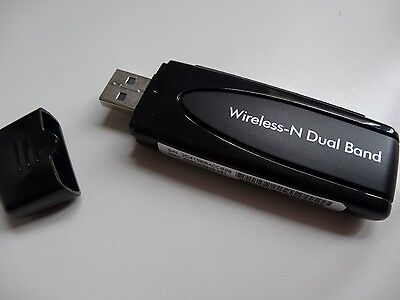 NETGEAR WNDA3100V2 WNDA3100 N600 Dual Band Wi-Fi Wireless USB Adapter TV (W005)