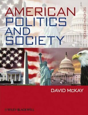 American Politics and Society (CourseSmart) by McKay, David Paperback Book The