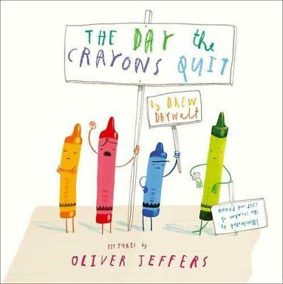NEW The Day the Crayons Quit By Drew Daywalt Board Book Free Shipping