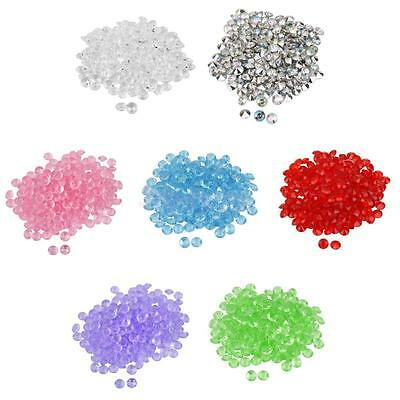 200pcs Wedding Decorations Scatter Diamonds Table Confetti Crystals Acrylic 10mm