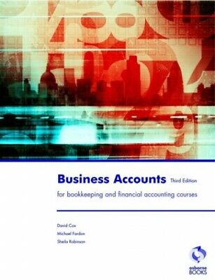 Business Accounts (Accounting & Finance) by Cox, David Paperback Book The Cheap