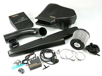 ARMA Carbon-Matt Airbox Air-Intake-Kit, Lufteinlass variabel - VW Golf 7 GTI + R