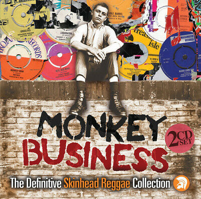 Various Artists : Monkey Business: The Definitive Skinhead Reggae Collection CD