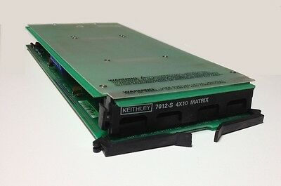Keithley 7012-S 4X10 Matrix Card with Terminal Board