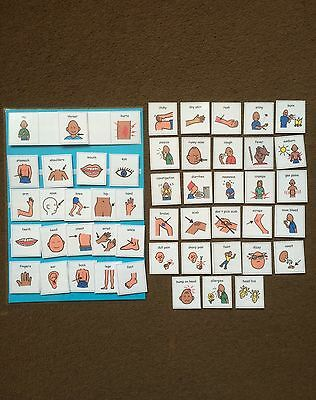 PECS/Boardmaker My...Hurts Pack for autism/ASD/SEN/stroke/visual learning
