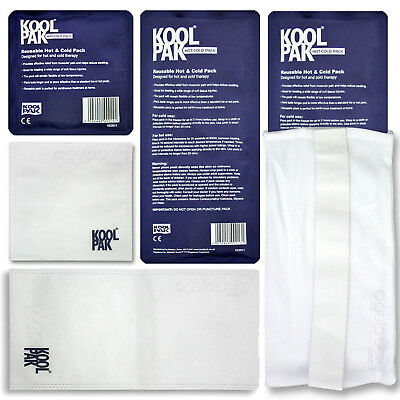 KoolPak Luxury Reusable Hot/Cold Packs (with Optional Covers/Sleeves Available)