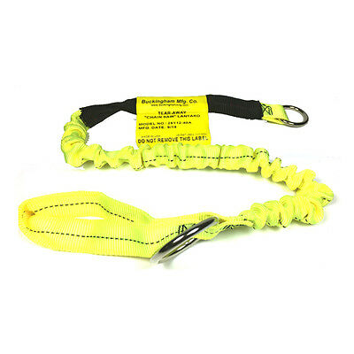 Buckingham Tear Away Bungee Chainsaw Lanyard 25Y12-48A Arborist Yellow