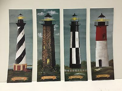 LOT- 40 lighthouse Prints....10 Each Of 4 Different Lighthouses