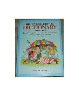 New Colour Picture Dictionary for Children Paperback Book The Cheap Fast Free