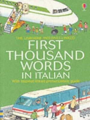 First 1000 Words: Italian (First Thousand Words M... by Amery, Heather Paperback