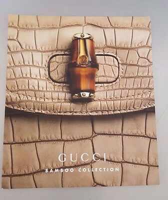 Gucci Bamboo Handle Bag And Backpack Collection Look Book 62 Pages