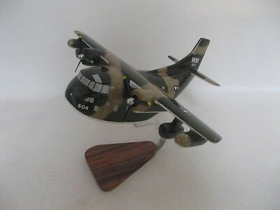 Chubby Pudgy C-123 Provider Airplane Desktop Wood Model