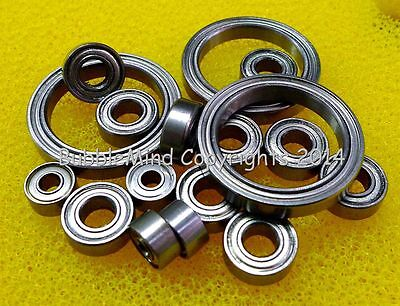 Metal Ball Bearing Set FOR Tamiya 58585 RC Alfa Romeo 155 V6 TT02 TT-02 16 PCS