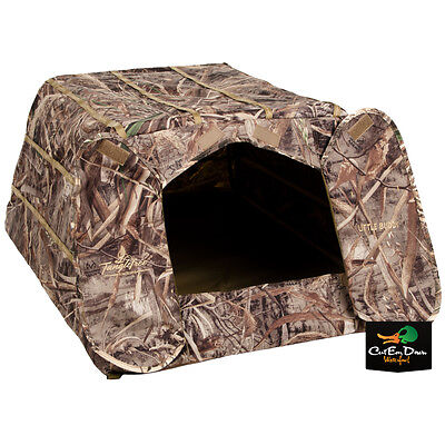 New Tanglefree Little Buddy Dog Field Blind Hide Duck Goose Hunting Max-5 Camo
