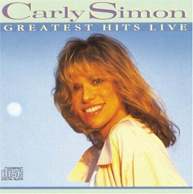 Simon, Carly : Greatest Hits Live CD Highly Rated eBay Seller, Great Prices