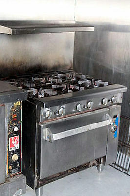 6 Burner STOVE with CONVECTION OVEN by Imperial