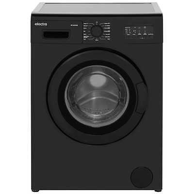 Electra W1249CF2B A+ 7Kg 1200 Spin Washing Machine Black New from AO