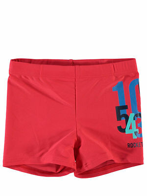NAME IT tolle Panty Badehose Zhark in rot Größe 62/68 bis 98/104