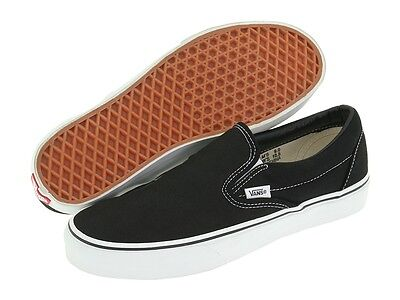 83220967a0d036 VANS MEN S WOMEN S Skate Shoes Black White Classic Slip On -  27.99 ...