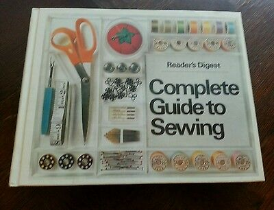 Complete Guide To Sewing Readers Digest 1976 Hard Cover