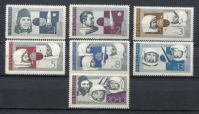 37704) BULGARIA 1966 MNH** Russian space explorations 7v