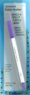 Collins Vanishing Fabric Marker Pen