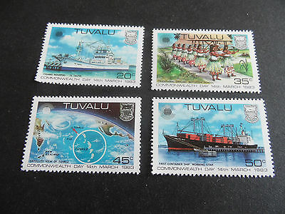 Tuvalu 1983 Sg 213-216 Commonwealth Day  Mnh